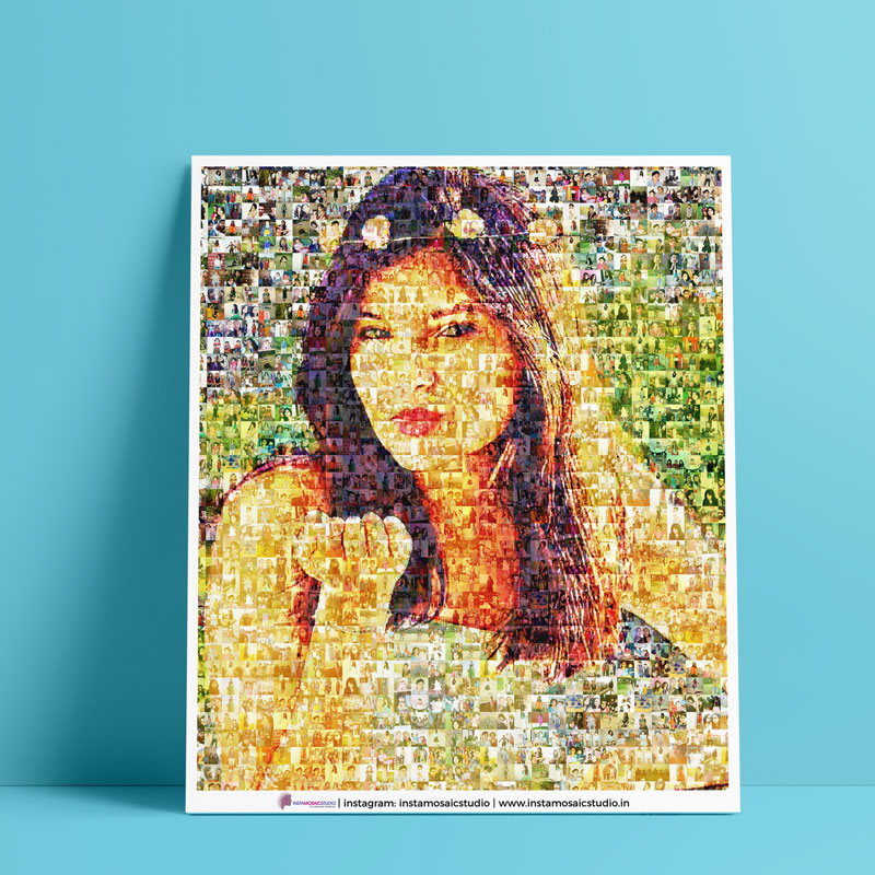 Personalized Mosaic Poster - Unique Personalized Gifts