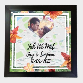 Jab We Met Frame, Unique Anniversary Gifts