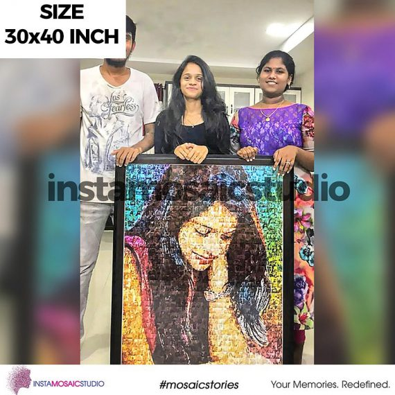 30x40 Inch Personalized Mosaic Poster
