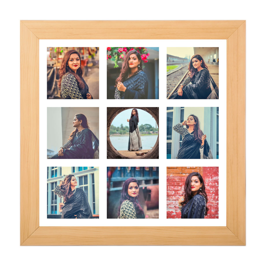 9 Photo Collage Frame