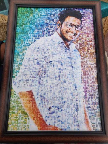 Personalized Mosaic Poster photo review