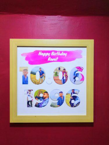 SuperDate - Birthday Photo Frame - Birthday Gifts photo review